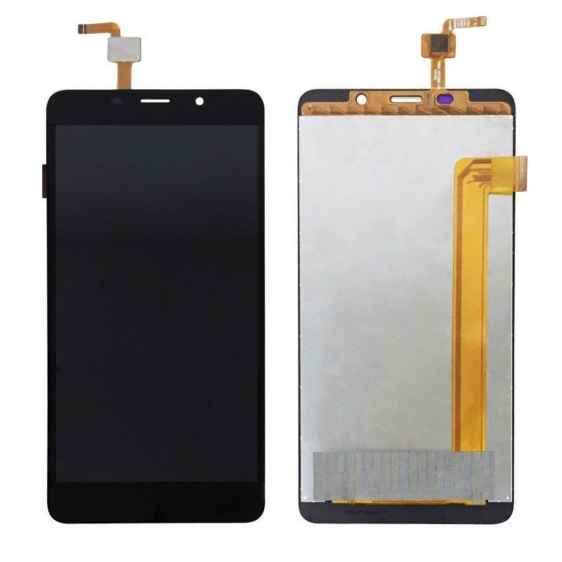 LCD Display LCD Screen For Leagoo M8 M8 Pro Replacement Parts + Disassemble Tool - BLACK / GOLD