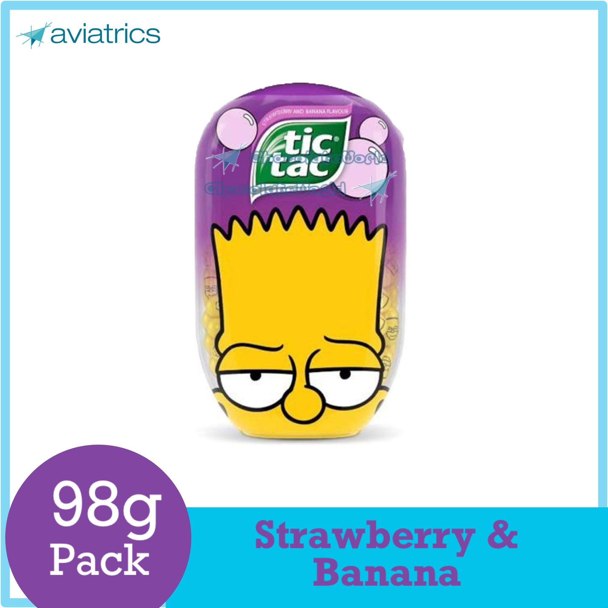 Tic Tac Strawberry & Banana 98g (Made in Italy)