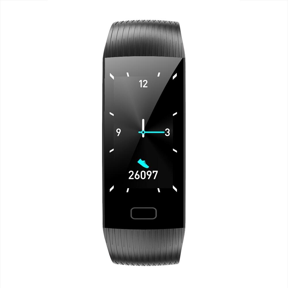 Smart Watch - Fitness Tracker Smart Watch Bracelet Wristband Heart Rate Monitor Tracer - RED / BLACK / PURPLE / BLUE