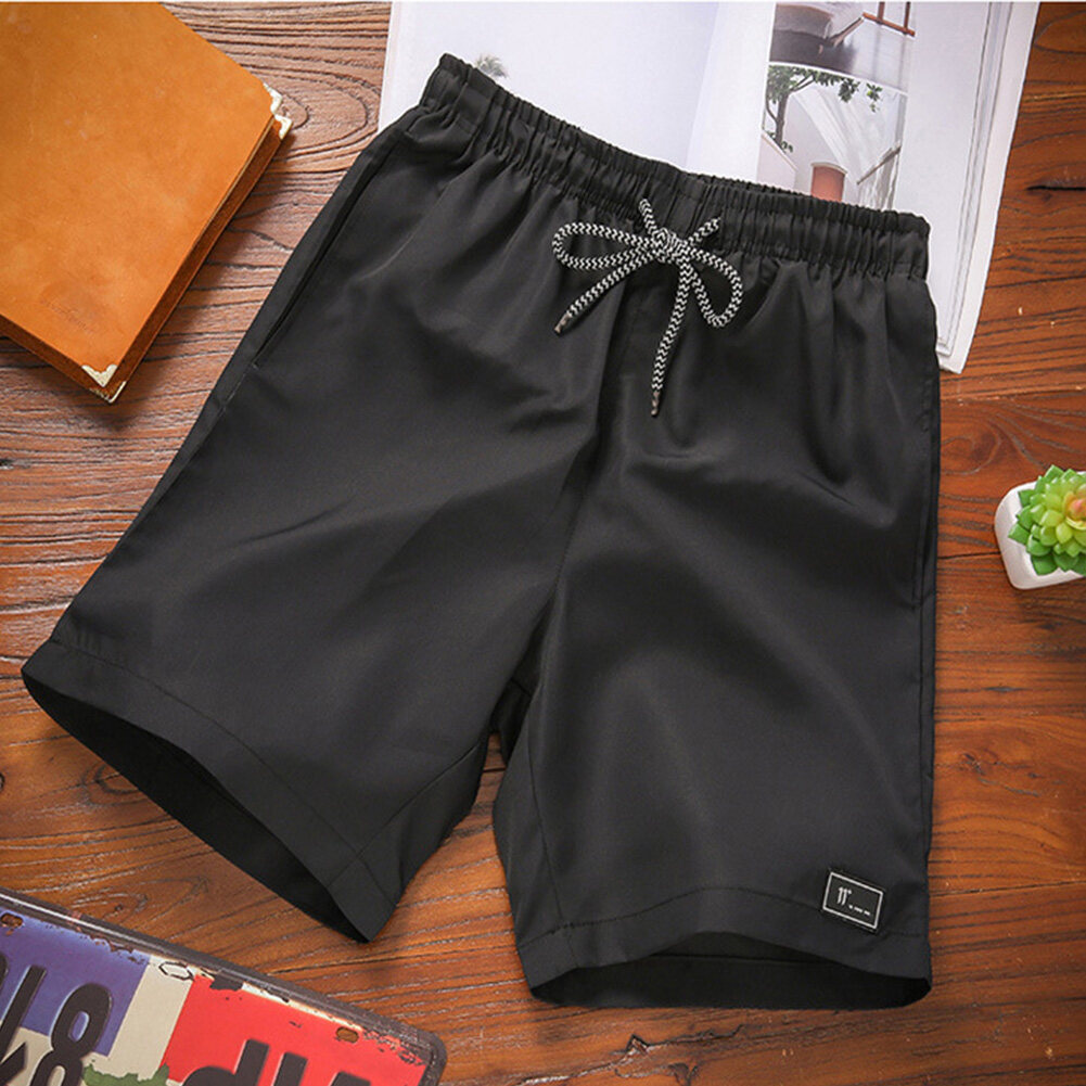 Men Summer Thin Casual Sports Middle Length Pants