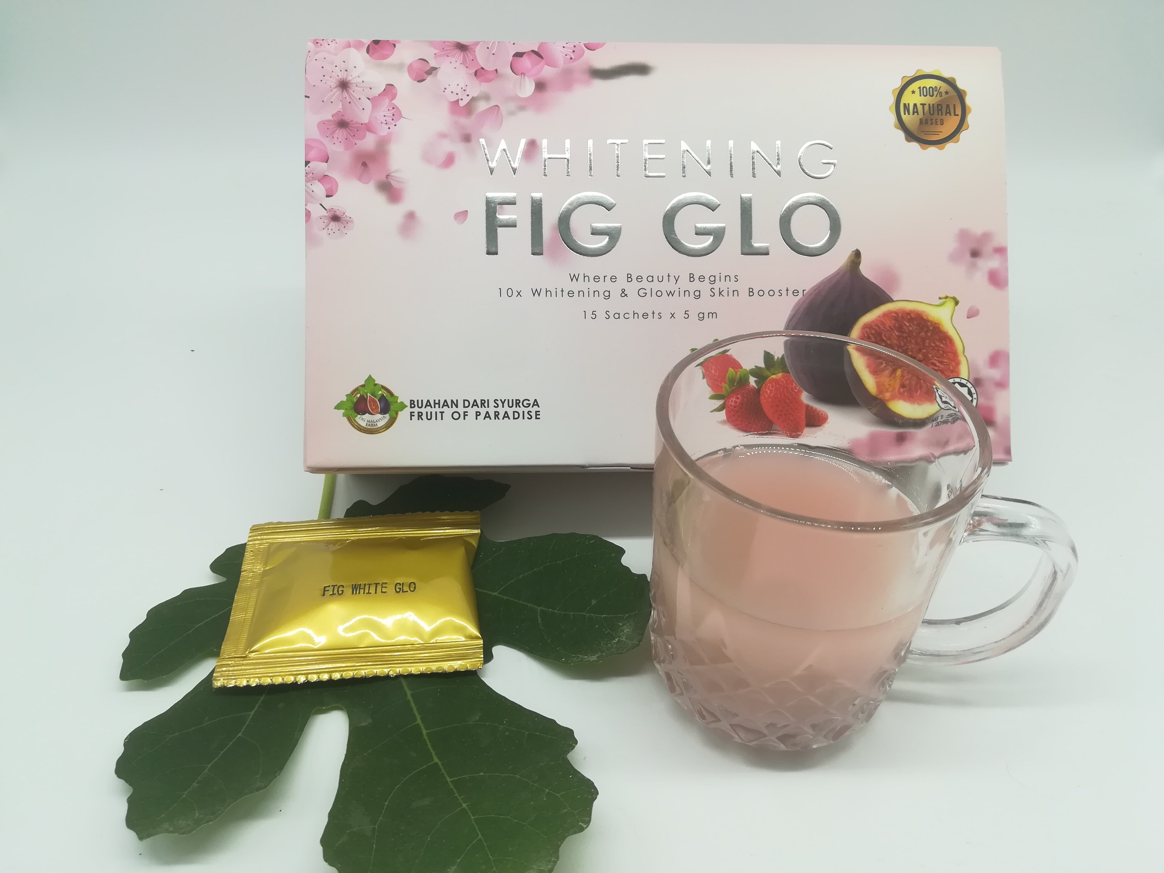 Bio  Fig Glowing & Whitening Skin Booster 15 sachets