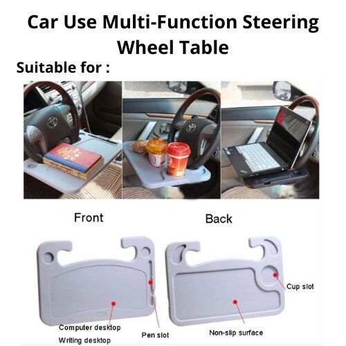 Best Selling [ Local Ready Stocks ] Car Use Multi-Function Steering Wheel Table