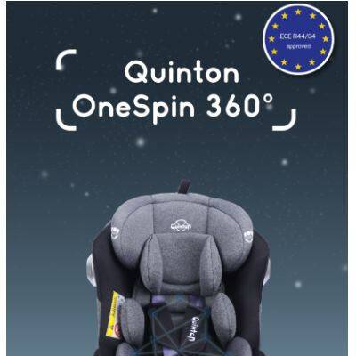 Quinton: OneSpin 360 Convertible Car Seat - GREY