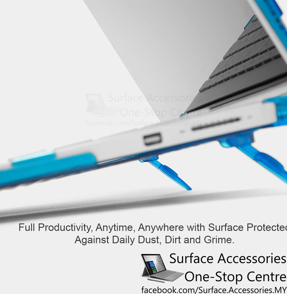 "[MALAYSIA]Microsoft Surface Book 3 15"" Ultimate Case Stand Cover Surface Book Flip Case Surface Book 3 Cover Surface Book 3 Stand for Surface Book 3 i7 Model"