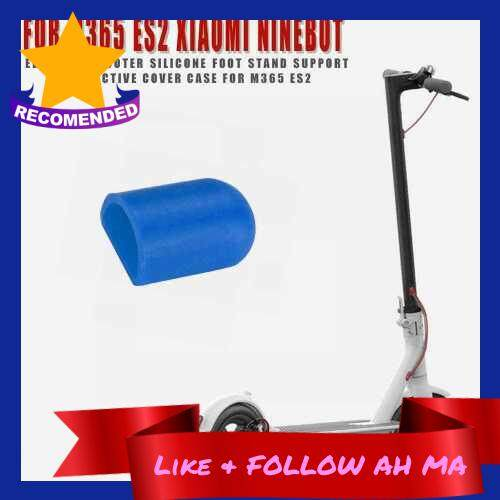 Best Selling Silicone Foot Support Cover Kickstand Protective Cover Compatible with Xiaomi M365 Ninebot ES2 ES4 Electric Scooter (Blue)