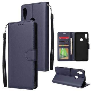 Bao Da PU Sang Trọng Nhẹ Dành Cho Xiaomi Redmi Note 7 Ngăn Đựng Thẻ Bên Trong 6.3 Inch Ốp Lưng Lật TPU thumbnail