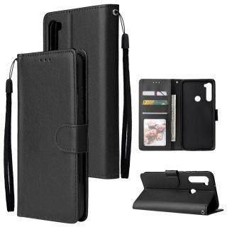 Bao Da PU Sang Trọng Nhẹ Dành Cho Xiaomi Redmi Note 8 Ngăn Đựng Thẻ Bên Trong 6.3 Inch Ốp Lưng Lật TPU thumbnail