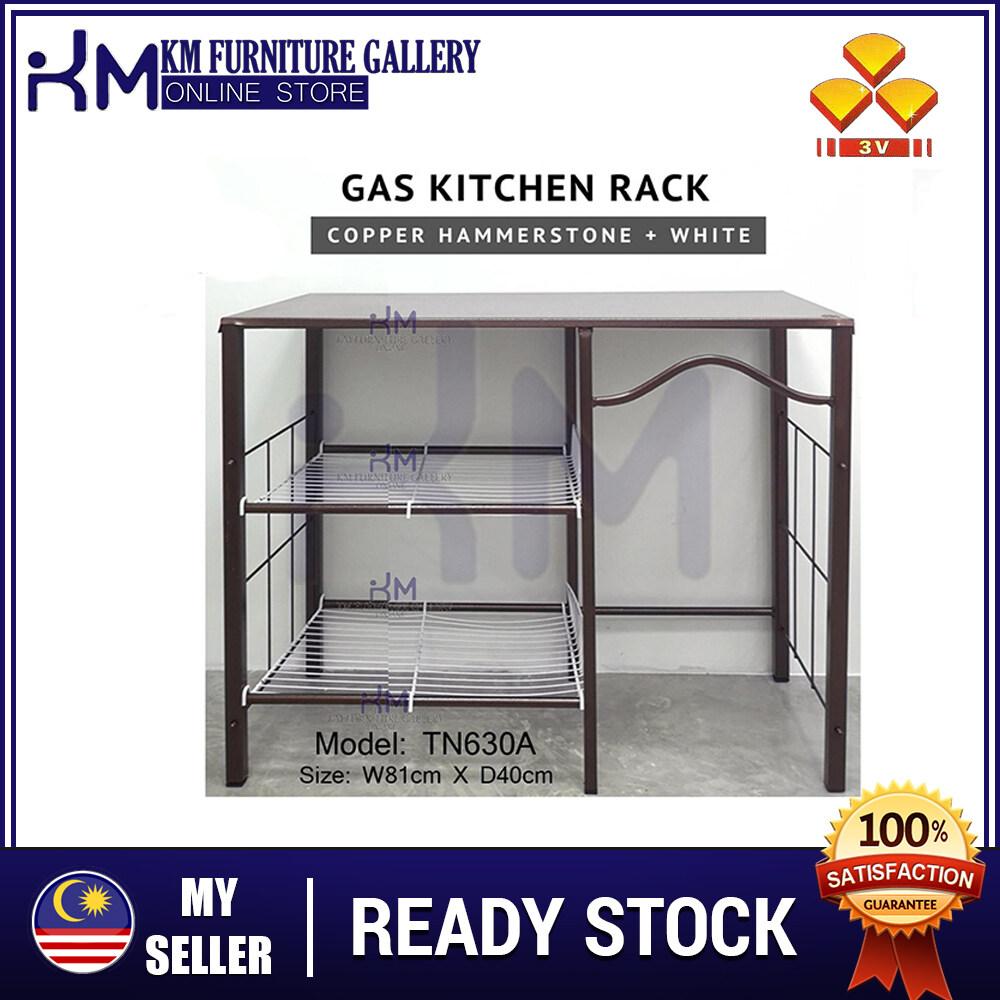 Km Furniture Gallery 3v 32 Metal Stove Rack Gas Rack Stove Table Kitchen Rack Kitchen Table Cutlery Rack Cooking Table Cooking Rack Dishes Rack Storage Rack Rak Dapur Rak Masak Rak Besi