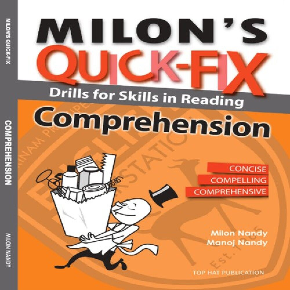 Milon\'s Quick Fix: Drills For Skills In Reading Comprehension Master English Ready Stock