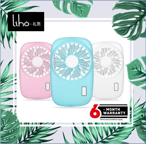 Cute Portable Handheld Fan Mini USB Rechargeable Fan (Camera Fan)