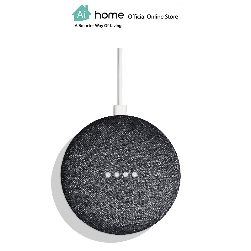 GOOGLE Home Mini [ Smart Speaker ] Google Assistant with 1 Year Malaysia Warranty [ Ai Home ] GHMCH