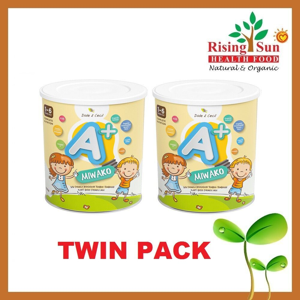 Dale & Cecil MIWAKO A+ Complete Nutrition Milk for Toddler 700g x 2 - TWIN PACK