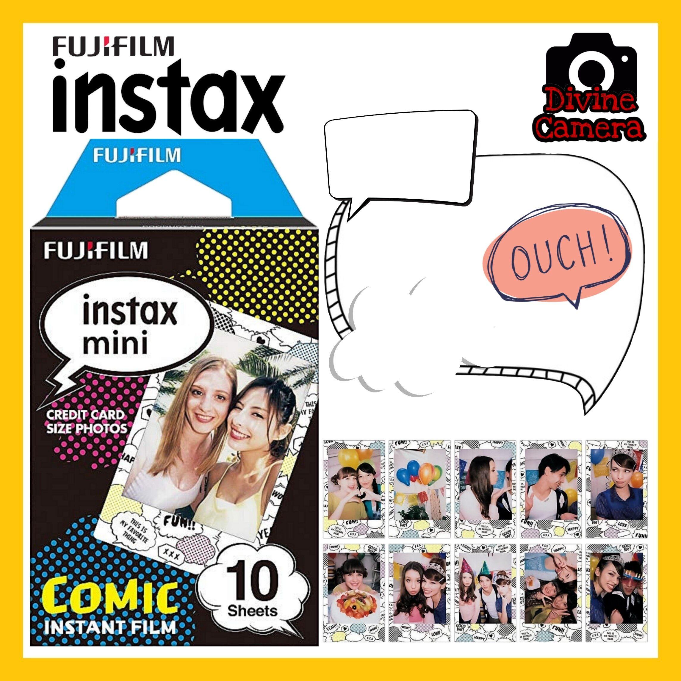 FUJIFILM INSTAX Mini Comic Instant Film (10 Sheets)