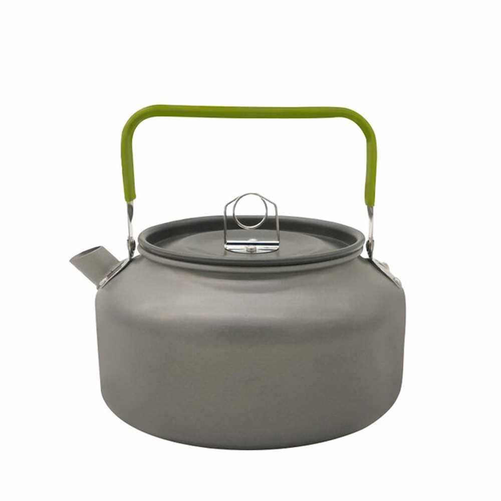 Best Selling 1.2L/0.8L Outdoor Portable Coffee Teapot Kettle Camping Hiking Picnic BBQ Kettle Water Pot Aluminium Alloy Tea Kettle (2)