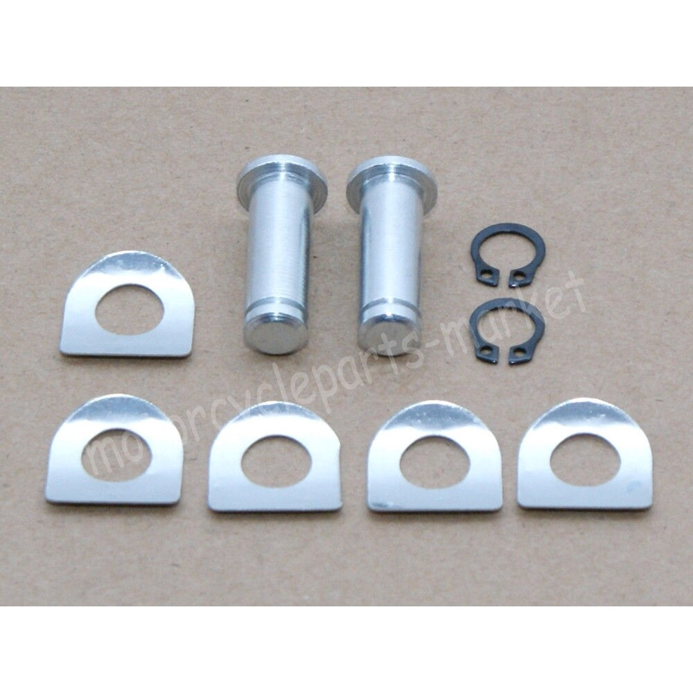 Moto Accessories - Foot Pegs Mount Kit Pins Fit For Harley Dyna Sportster 883 1200 Softail Flstc - Motorcycles, Parts