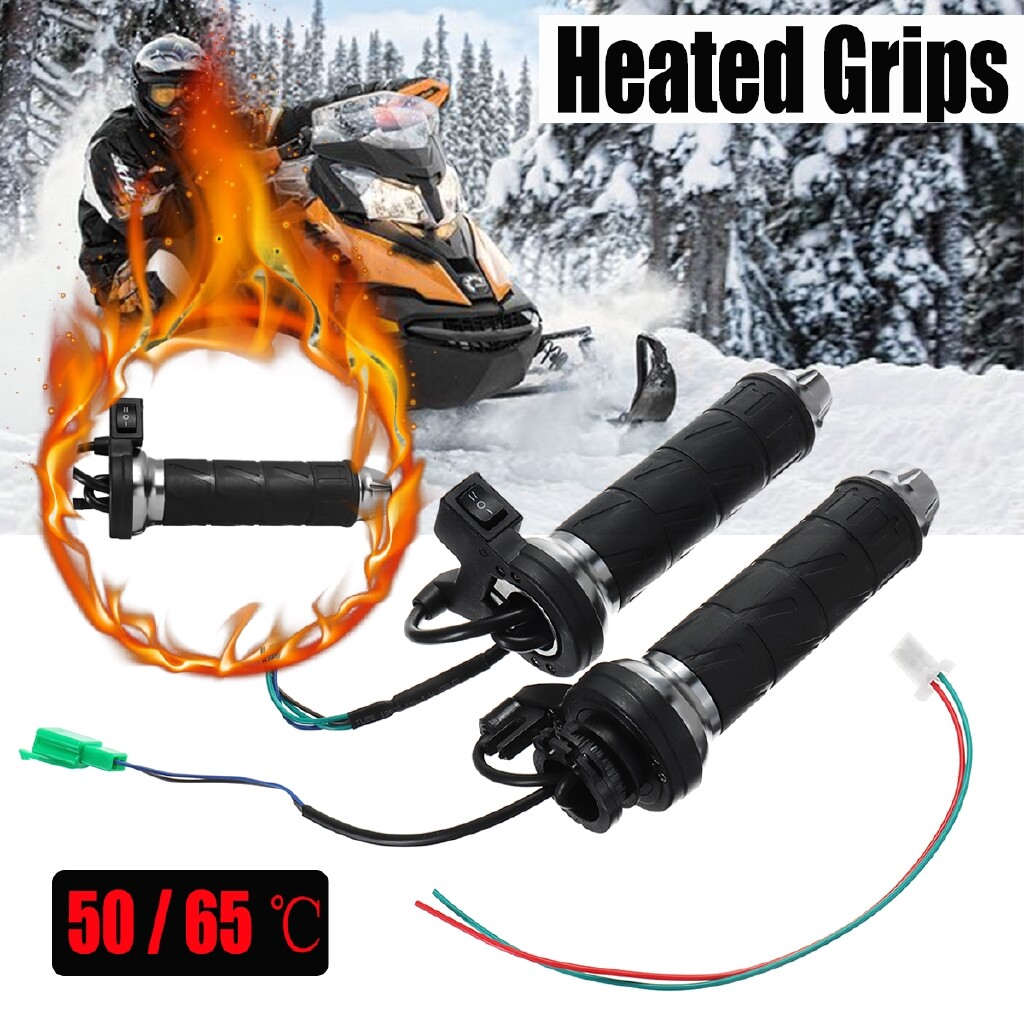 Moto Accessories - 7/8\'\' 12V Motorcycle Motorbike Touring Heated Grips HandlebarWarm 50 -65 - Motorcycles, Parts