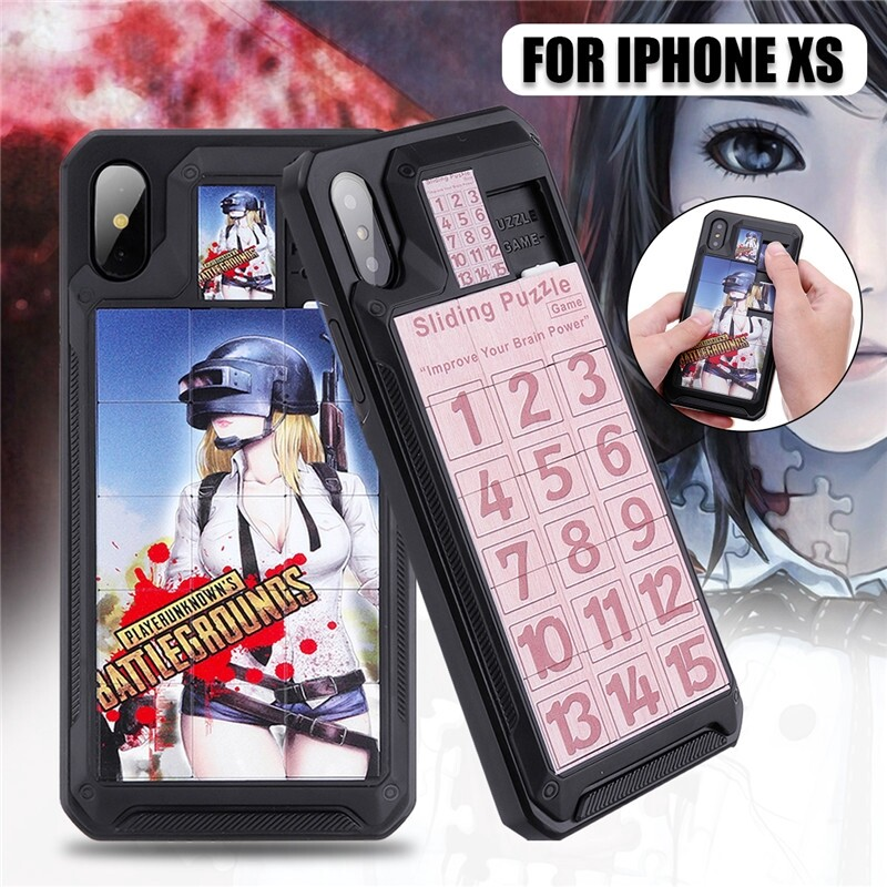 iPh Soft Cover - Phone Puzzle Case Shell Cover Jigsaw Puzzle Phone Case Cover For iPh xs - iPhX 14 / iPhXS 14 / iPhX 11 / iPhXS 11