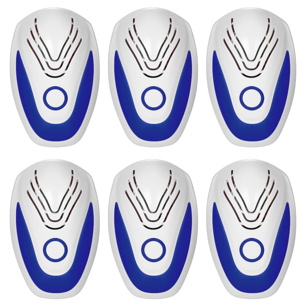 Specialty Lighting - ULTRAsonic Plug-in Pest Mouse Control Repeller Harmless Electric Insect Bug Mosq - UK PACK OF 6 / US PACK OF 6 / EU PACK OF 6 / UK PACK OF 4 / US PACK OF 4 / EU PACK OF 4 / UK PACK OF 1 / US PACK OF 1 / EU PACK OF 1