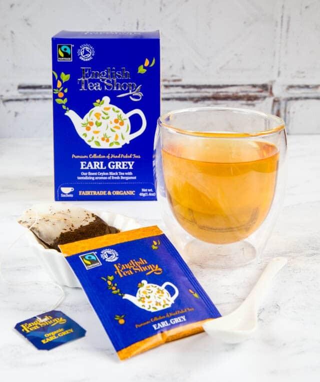 English Tea Shop Organic Earl Grey (20 bags) 40g EXP: March 2022