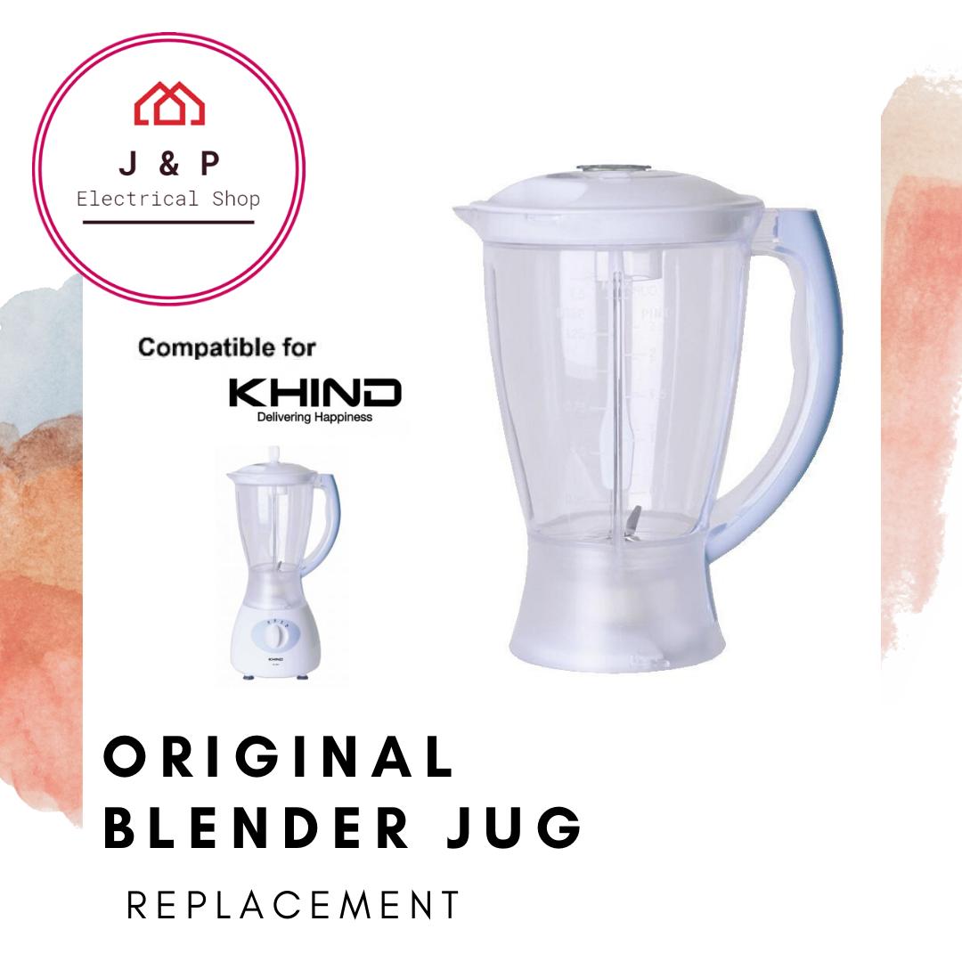 KHIND Original Blender Jug Replacement 1.5L ( BL1515) 搅拌机杯 1.5升  [READY STOCK 现货]1356564657-1597898778979-0