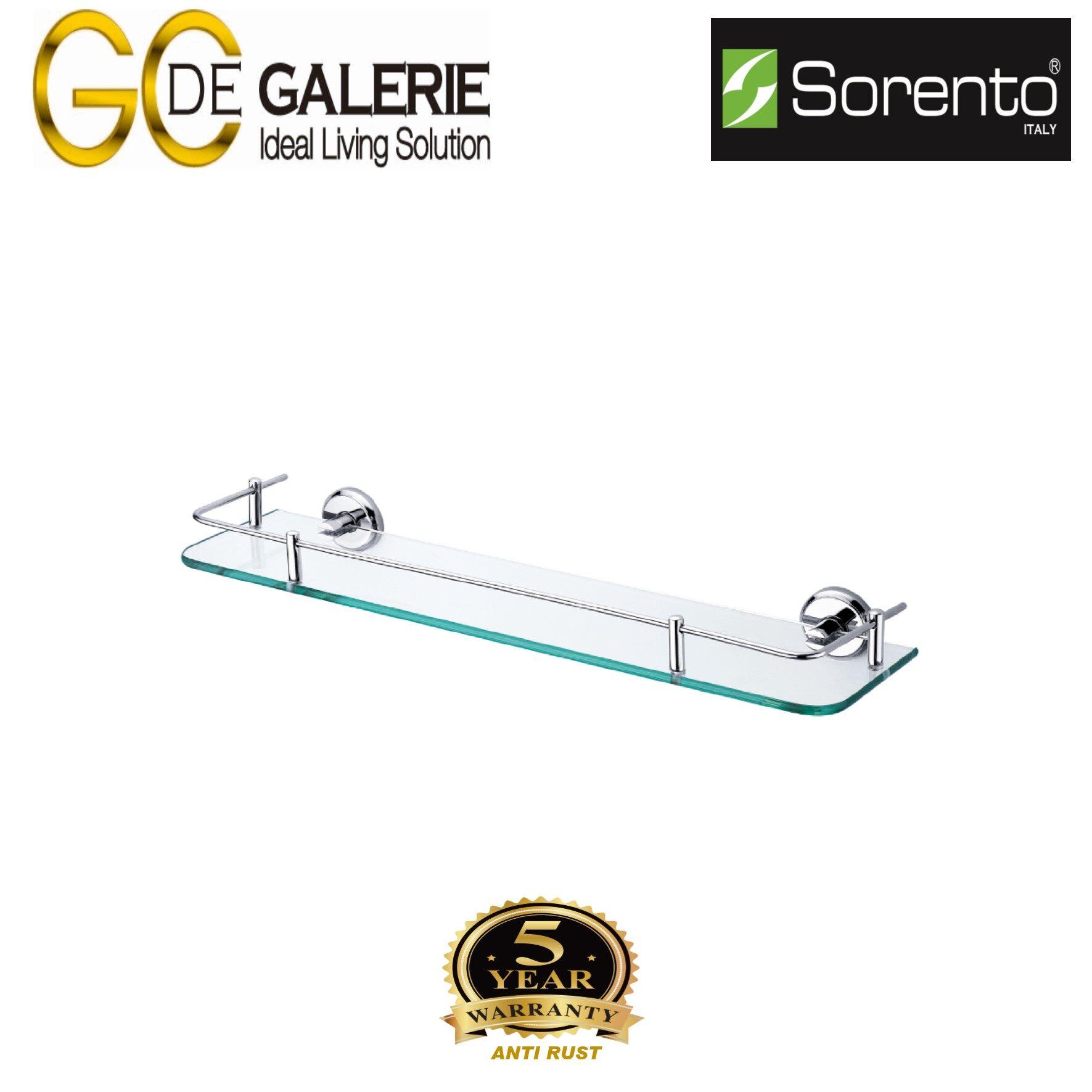Sorento SRT7905 Bathroom/ Toilet Stainless Steel 304 Glass Shelf
