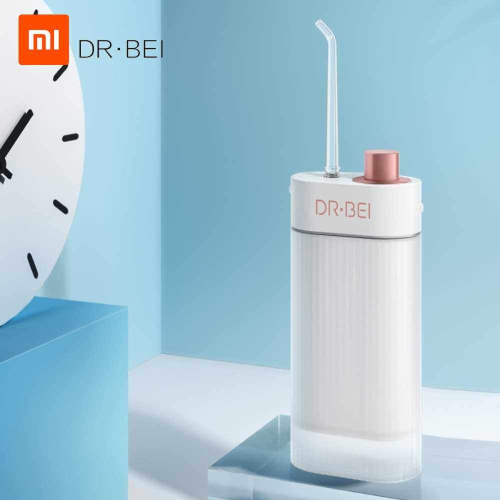 Xiaomi Youpin Oral Cleaning Irrigator Water Jet Teeth Cleaner F3 DR.BEIF3 Water Flosser Electric Dental Countertop Oral Cleaner (White)