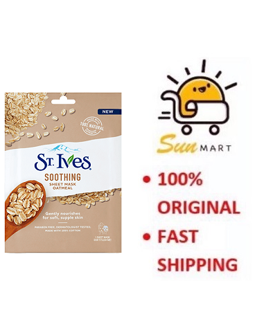 St. Ives Soothing Sheet Mask Oatmeal (1's)