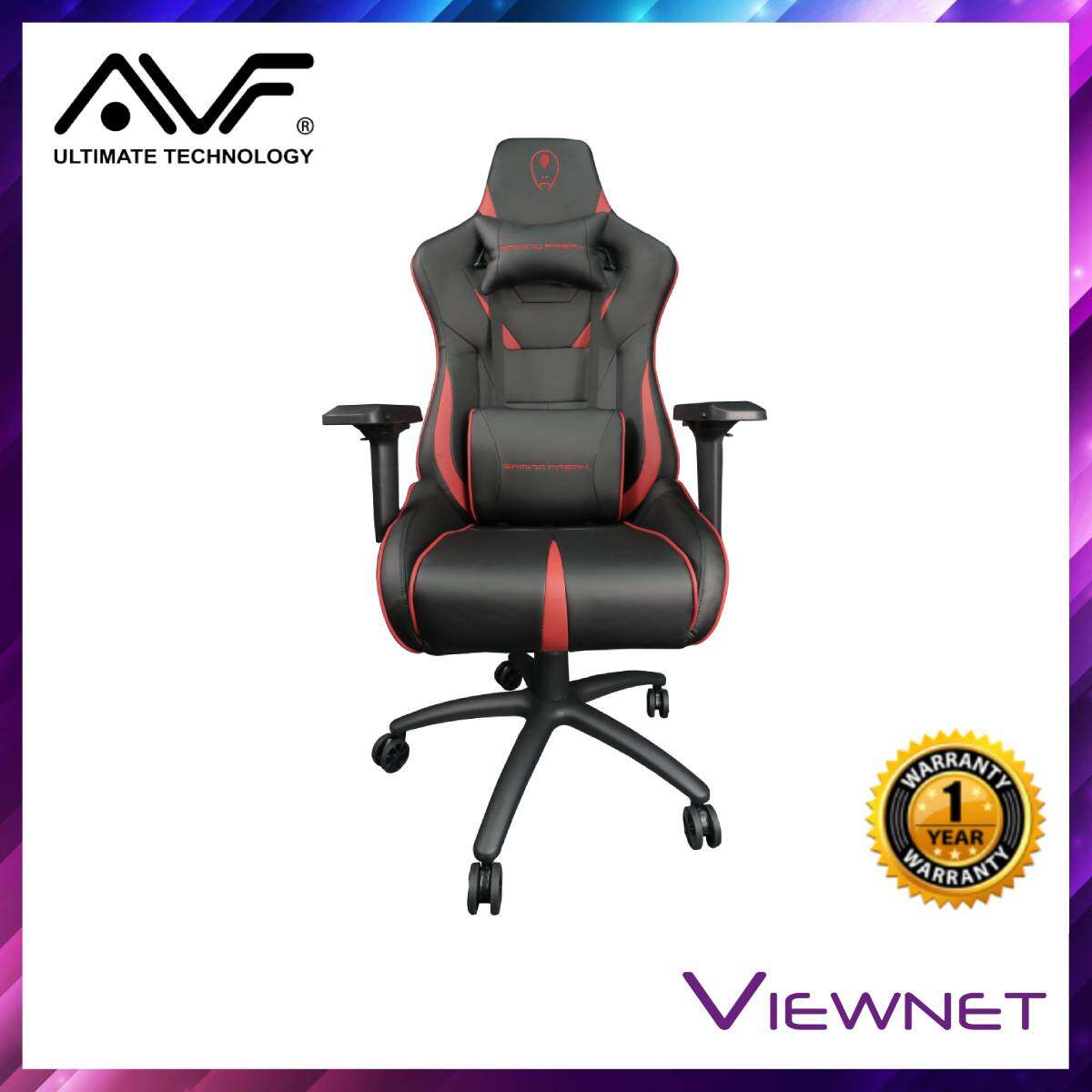 AVF Royal Throne Black Gaming Chair (GF-GCRT10)