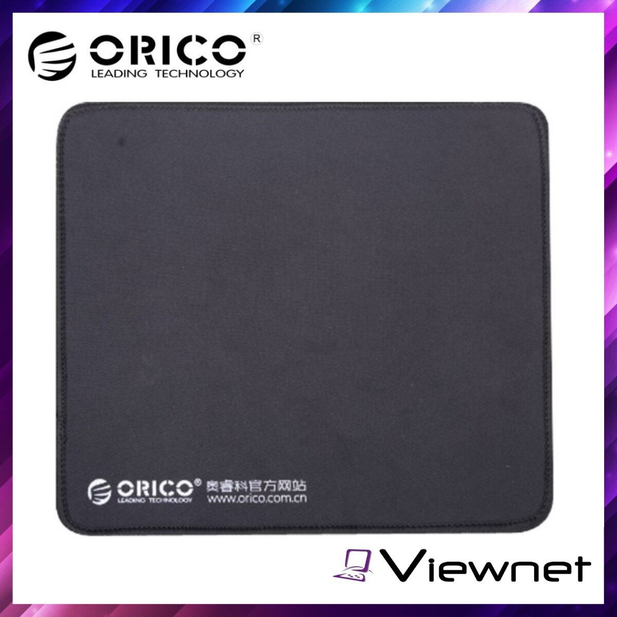 Orico 3mm Mouse Pad (MPS3025-BK), Soft Rubber, 300*250mm, nonslip