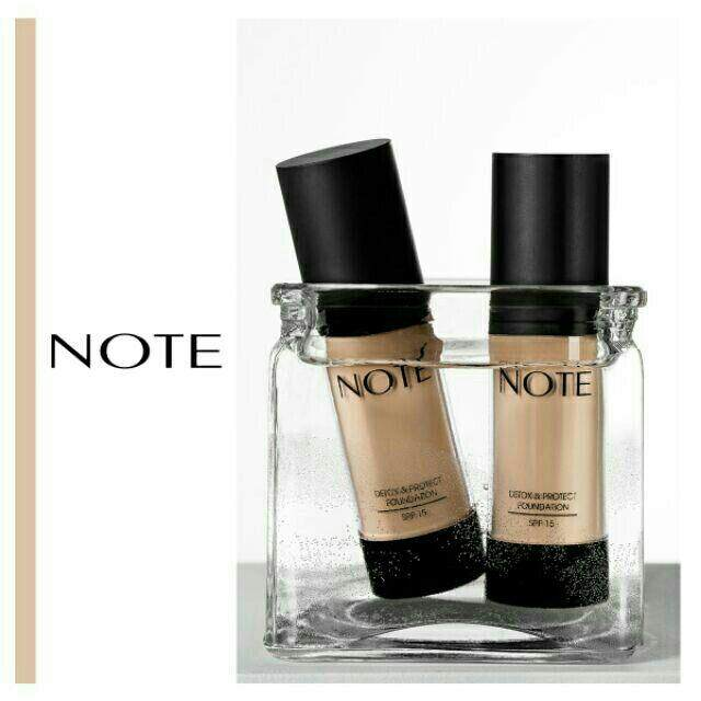 FREE GIFTNote Detox & Protect Foundation foundation