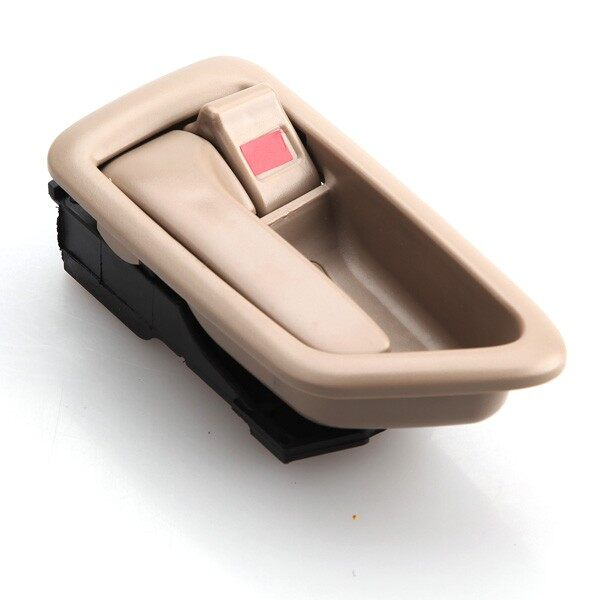 Engine Parts - Left Front Rear Inside Inner Interior Door Handle For 1997-2001 Toyota Camry Tan - Car Replacement