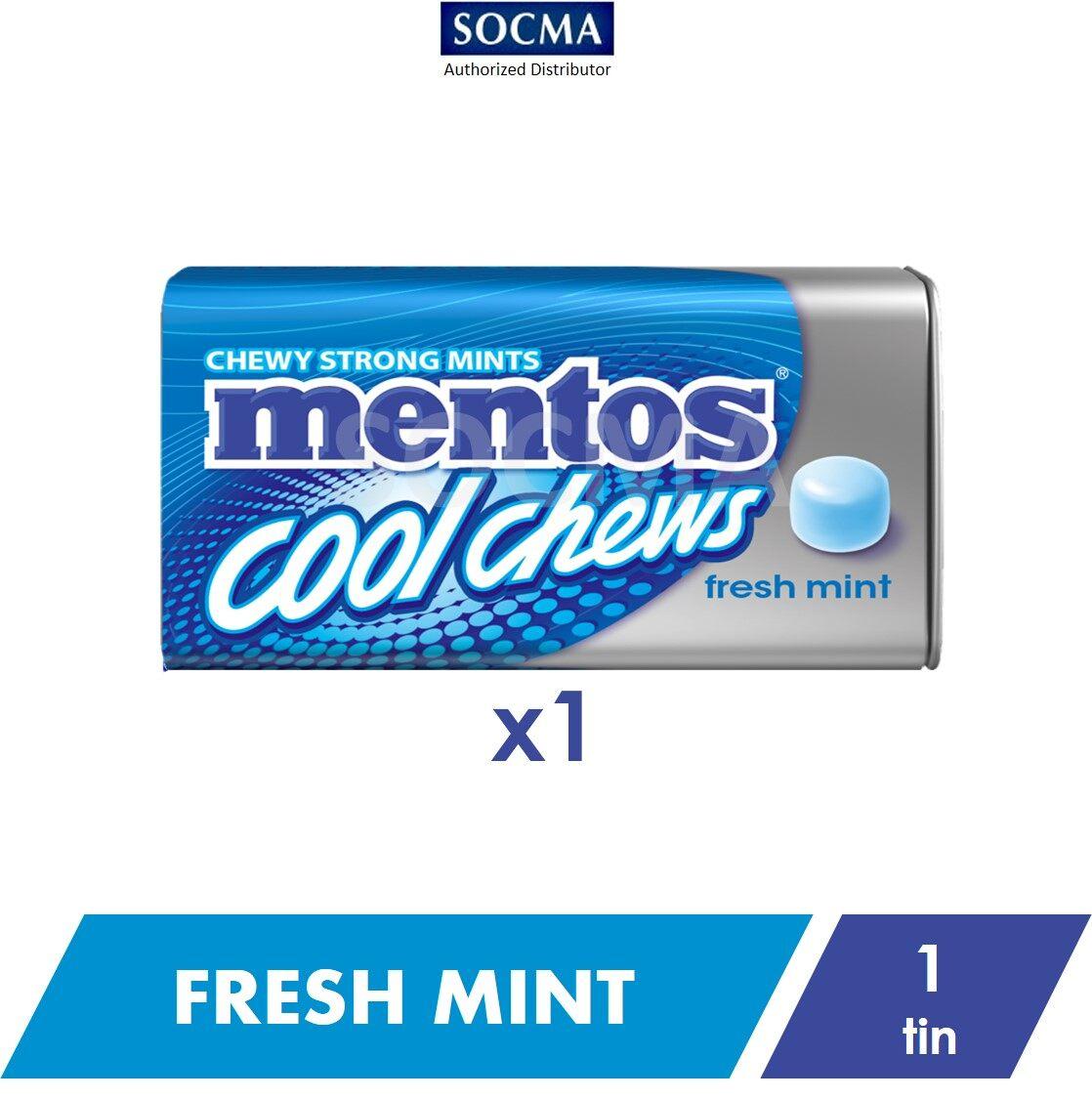 Mentos Cool Chews Tin Fresh Mint 38g [1]