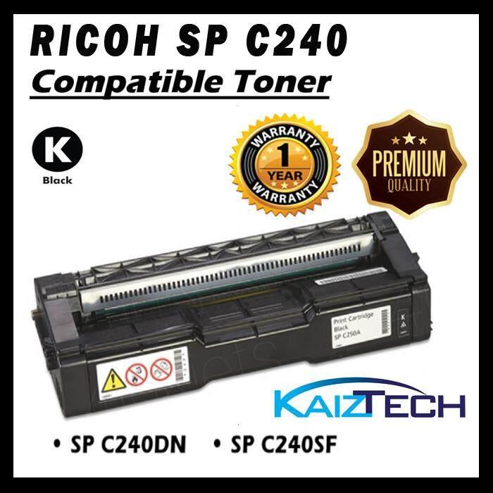 AAA Super Grade RICOH AFICIO C240DN / C240SF Black Toner Cartridge