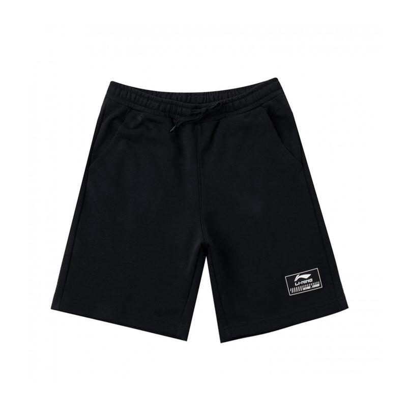 Li-Ning Men's Shorts - Black AKSQ101-1