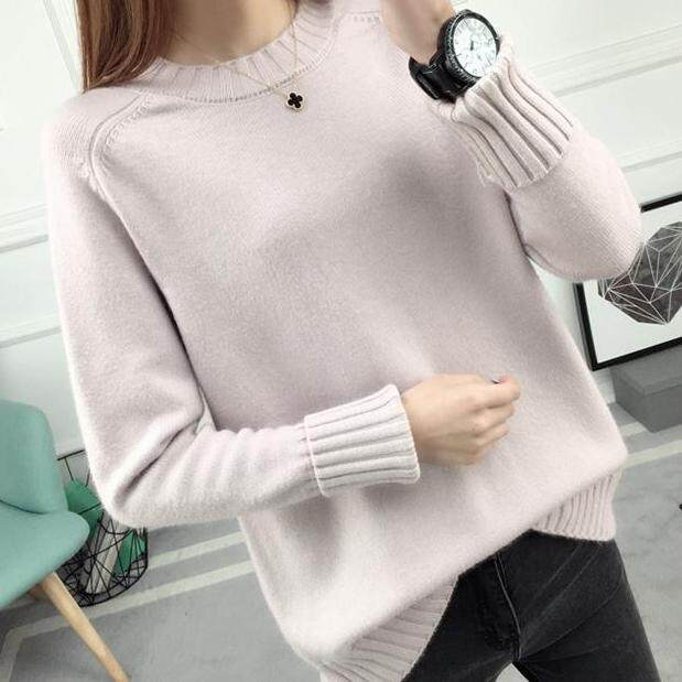(Pre Order14 Days JYS Fashion Korean Style Women Knit TopCollection526-9860col525a-9860--Pale Pinkish -S