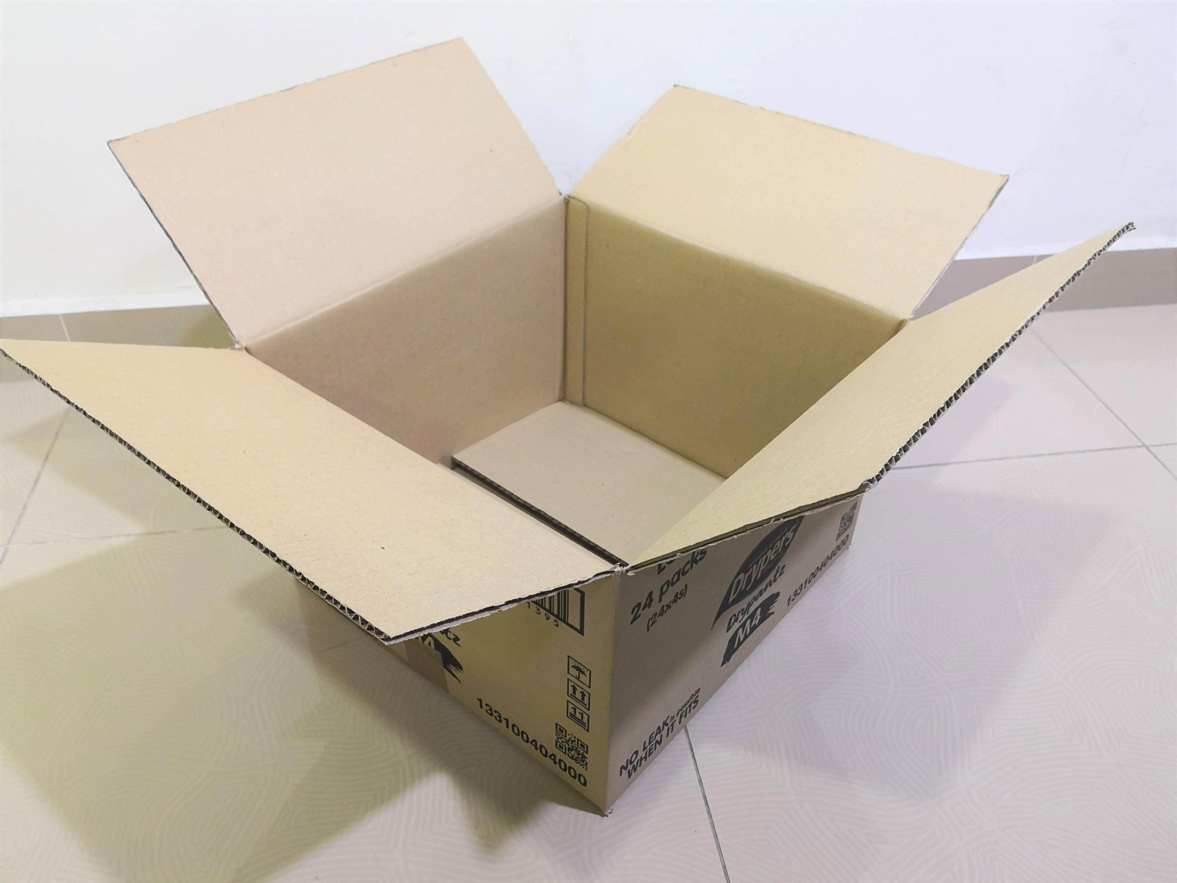 9pcs Printed Carton Boxes (L381 x W372 x H251mm)