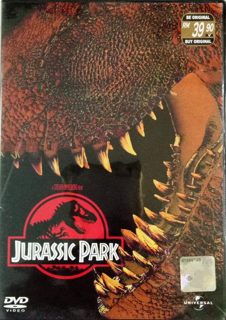 English Movie Jurassic Park 1 DVD