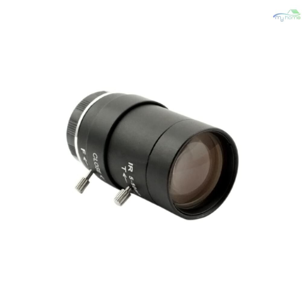 CCTV Security Cameras - 5-50mm Megapixel Manual Varifocal Lens Manual zoom CMOS/ CCD 1/3 CCTV Lens IR CS Mount for CCTV - BLACK