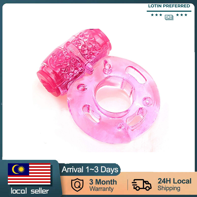 Vibrating Waterproof Vibrator Ring Stretchy Delay Penis Ring Intense ,Sex Toy ,Sexy Penis Ring