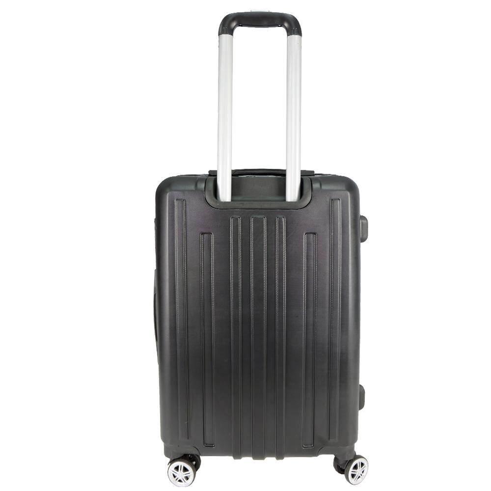 Poly-Pac WA9922 20inch ABS Hard Case Luggage- Black