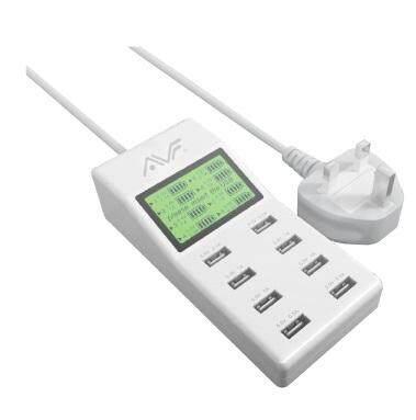 AVF USB 8-USB 9.2A Adapter (AUTAM04)
