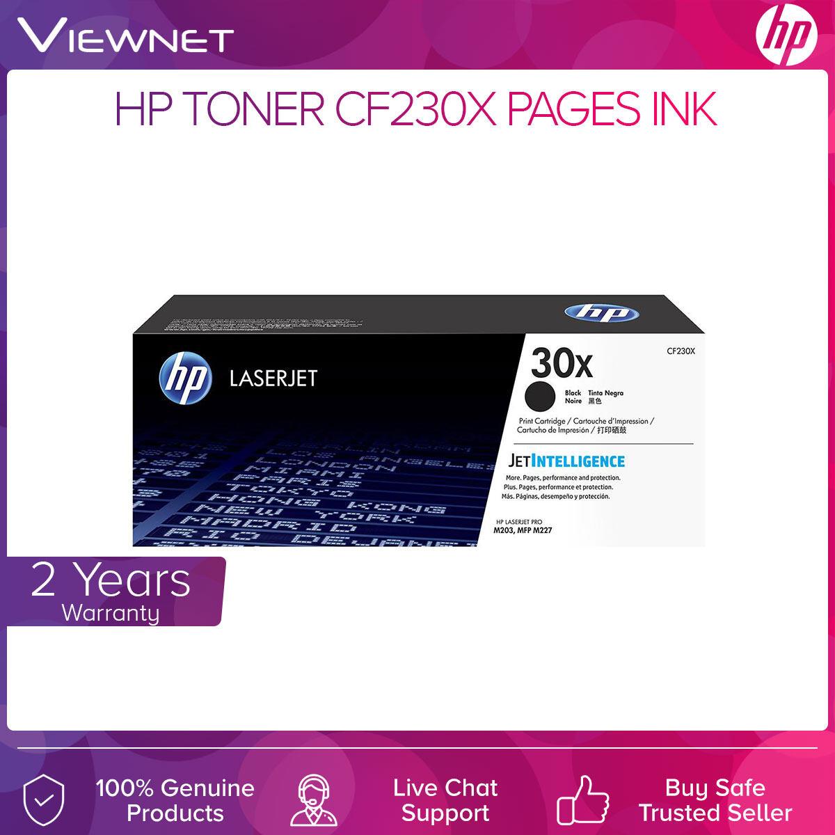 HP Toner CF230X/30X 3500 Pages Ink (Black)