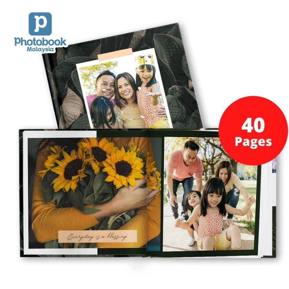 [e-Voucher] [Photobook App Exclusive!] Photobook Malaysia 40-Page Personalised 6 x 6 Hardcover Simplebook