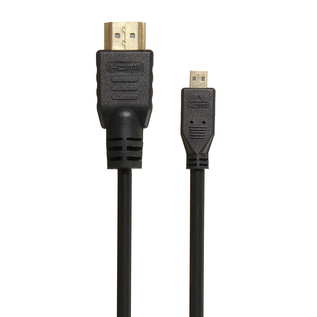 Android Cables - Micro HDMI Male To HDMI Male Adapter Converter Cable 1.5M 6FT For PC Monitor - Chargers