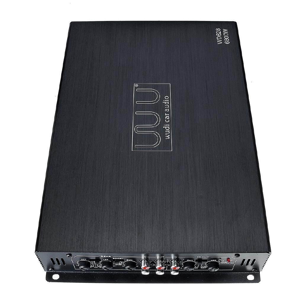 Vehicle Speakers & Subwoofers - 6800W 4CH Car Power Amplifier Class AB AMP Bridge Connection Bass For Subwoofer - Car Electronics
