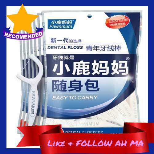 Best Selling 18pcs/Box Dental Floss Interdental Brush Teeth Stick Toothpick Soft Tooth Picks Oral Care (Alw2024980)