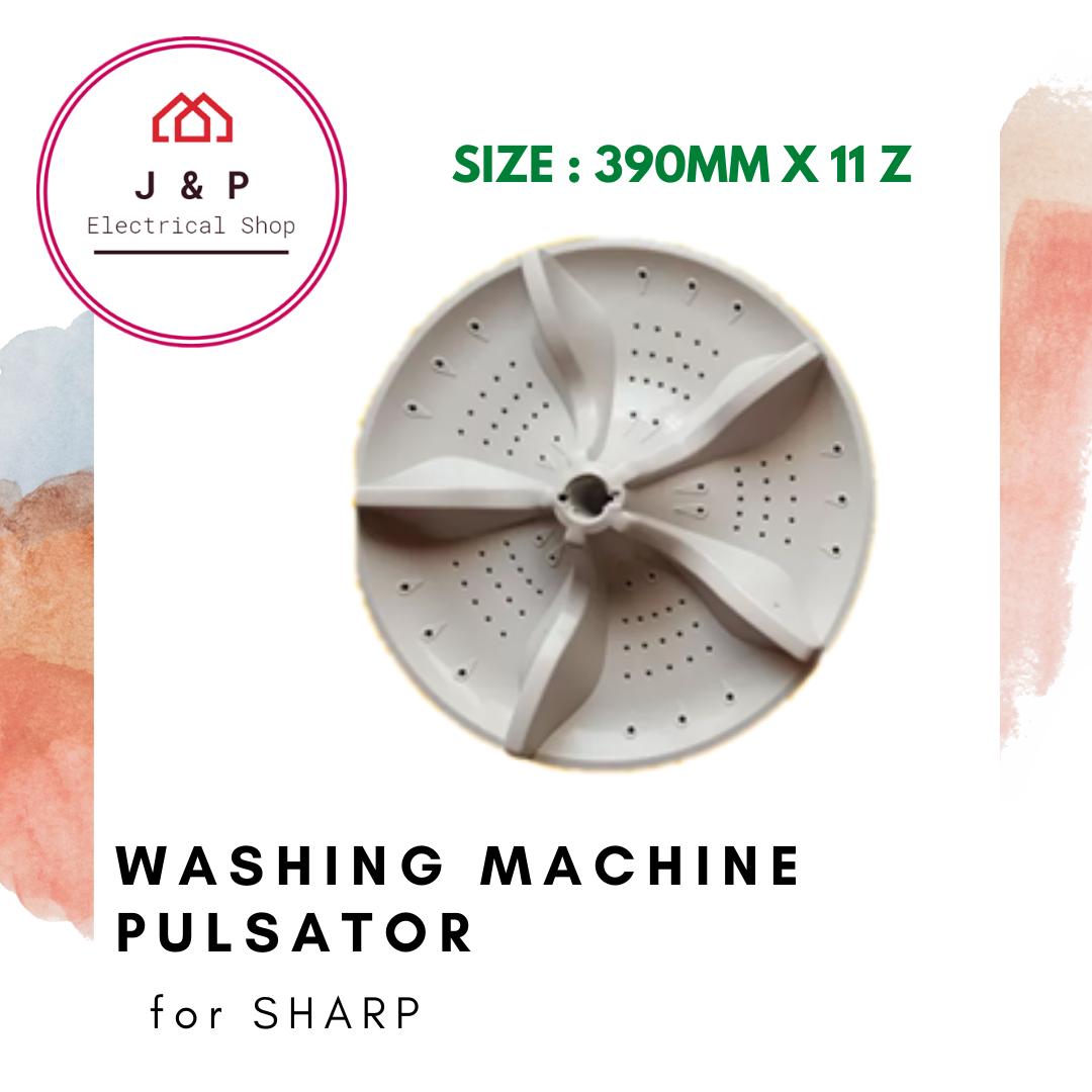 SHARP WASHING MACHINE PULSATOR (ES115)_ 390mm X 11 z [READY STOCK]1378494870-1598442758259-0