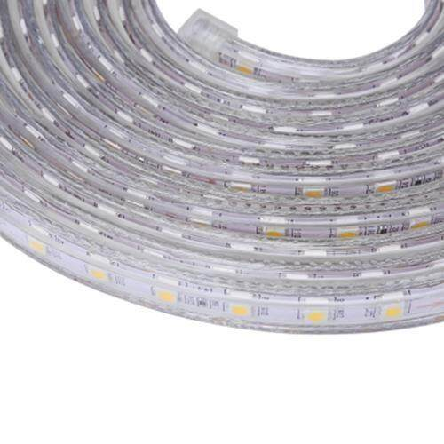AC 220V 1000LM 5M 300 LEDS STRIP LIGHT WATERPROOF LAMP (WARM WHITE LIGHT)