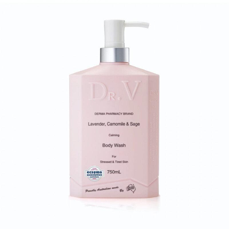 DR. V Lavender, Chamomile & Sage Calming Body Wash