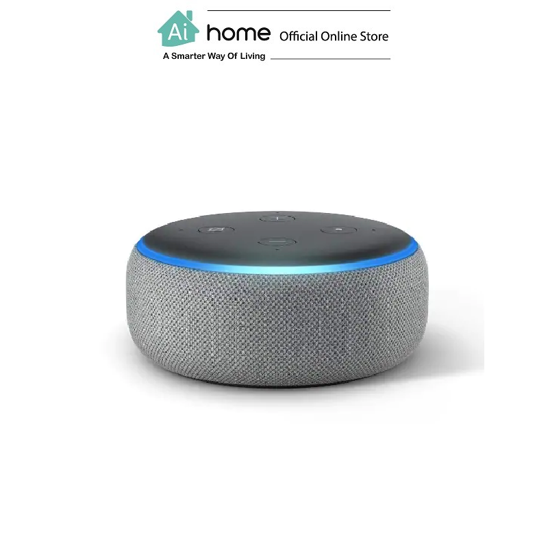AMAZON Echo Dot 3rd Generation [ Smart Speaker ] Build in Alexa Assistant with 1 Year Malaysia Warranty [ Ai Home ] AE3WG
